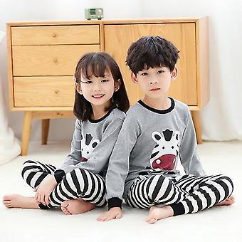 Lasten univaatteet, Vauvan kevätpuuvillasetit, Kotivaatteet Pyjama, Lasten yöasut,