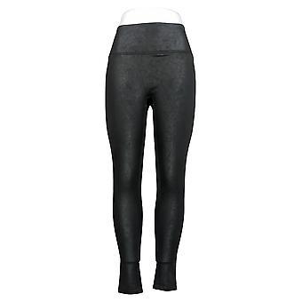 All Worthy Hunter McGrady Leggings Ultimate Faux Leather Black A387467