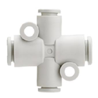 SMC pneumatique Croix Tube à Tube adaptateur de connexion A 6 Mm, B 8Mm, C 6Mm, D8Mm