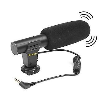 SHOOT XT-451 Prenosný kondenzátor Stereo mikrofón mikrofónu