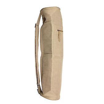 Fitness Mad Jute Bag Eco Friendly jooga kunto laitteet harjoittaja-luonnollinen