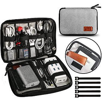 FengChun Kable Organizer Tasche Elektronische Kabeltasche Zubehör Reisetasche Kable Aufbewahrung