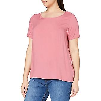 ONLY Carmakoma CARFIRSTLY Life SS Top Noos T-Shirt, Baroque Rose, 52 Woman