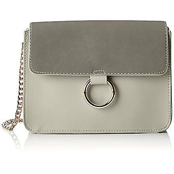 PIECES Pcgry Cross Body - Women's Crossbody Bags, Silver (Alloy), 6x15x23 cm (B x H T)