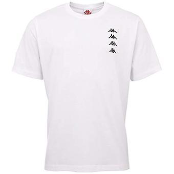 Kappa - Geworg Herr T-shirt, Herr T-Shirt, 307036, 11-0601 Bright White, XXL