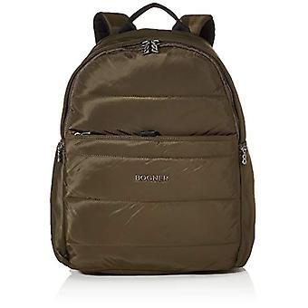 Bogner Meribel Tilo Women's Lvz Backpack, 15.5 x 48.5 x 35 cm, Brown (Brown (Khaki)), 15.5x48.5x35 cm (B x H x T)