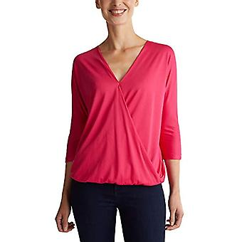 ESPRIT Collection 999eo1k802 T-Shirt, Pink (Dark Pink 650), X-Small Woman
