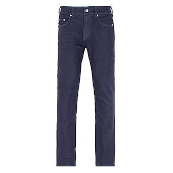 True Religion Rocco Relaxed Skinny Inglorious Blue Jeans