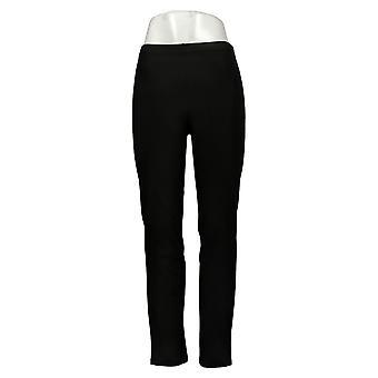 Kvinder med kontrol Shapewear Tushy Lifter Slim Leg Pants Sort A310956