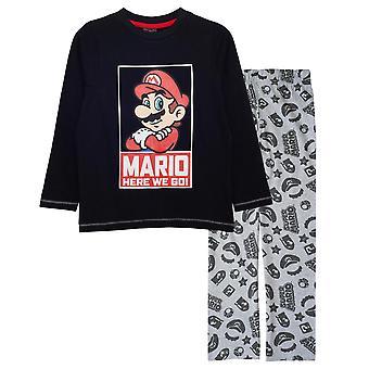 Super Mario Boys Här går vi Pyjamas set
