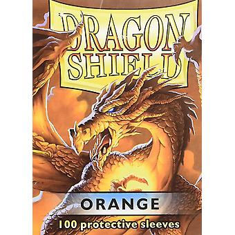 Dragon Shield Standard Orange Card Sleeves - 100 Sleeves