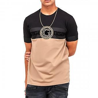 Glorious Gangsta Damos Sand/Black Stretch T-shirt