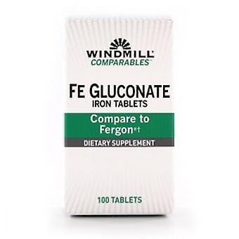 Windmill Health Fe Gluconate, 239 mg, 100 Tabs