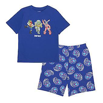 Fortnite Boys Beef Boss Kısa Pijama Seti