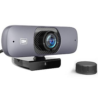 Full hd webcam, 1440p computer camera usb 2k camera with fixed focus drive-free h.264 compression for computer / laptop