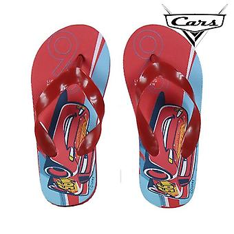 Swimming Pool Slippers Cars 72372 Red