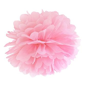 LAST FEW - 35cm Light Pink Tissue Paper Pom Pom Party Decoration