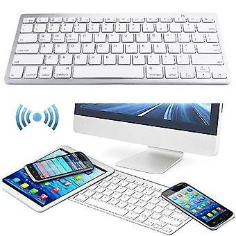Tenká bezdrátová klávesnice Bluetooth pro smartphony iPad Android Windows Mac
