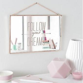 Wandspiegel 20cm X 30cm X 1cm Dekorative Folgen Sie Ihren Traumspiegel