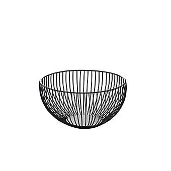 Nordic Creative Home Furnishing Iron Art Fruit Basket Living Room Snacks Desktop Storage Basket