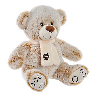 Flauschiges Spielzeug DKD Home Decor Beige Polyester Bear (29 x 24 x 28 cm)