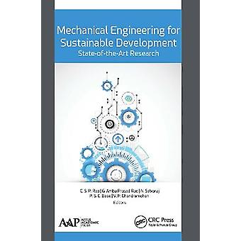 Mechanical Engineering for Sustainable Development StateoftheArt Research