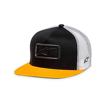 Alpinestars Racer Trucker Cap in Black/Yellow
