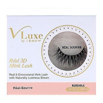 False Eyelashes V Luxe 3D Realmink I-Envy Vler05 Real Sourire