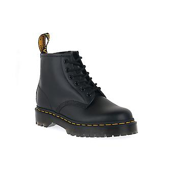 Dr martens 101 bex black smooth boots / boots