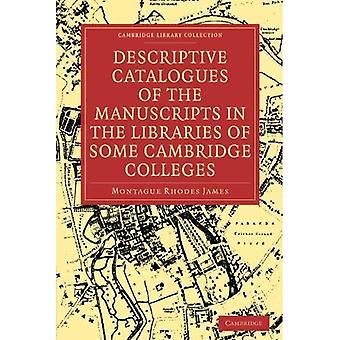 Opisowe katalogi rękopisów w bibliotekach niektórych cambridge college'ów