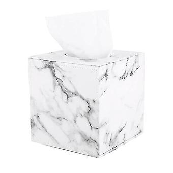 Facial tissue holders marble square square tissue box