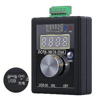 Металлодетекторы 0-10в 0-20ма генератор сигналов карманный аналоговый имитатор напряжения тока калибратор y98e re