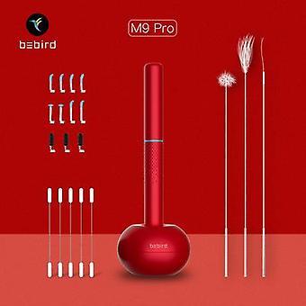 Bebird M9 Pro Smart Visual Earstick Endoscoop 300W Hoge Precisie Mini Camera Oorwas Cleaner Rood