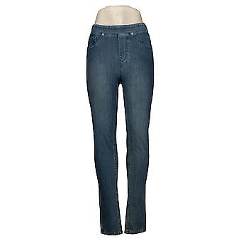 DG2 door Diane Gilman Dames Jeans Stretch Twill Skinny Blue 645006