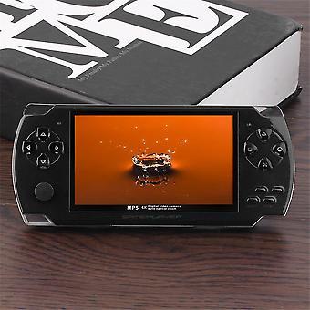 Hordozható 4,3 hüvelykes 480 * 272 Tft kijelző kézi videozenei játékkonzol
