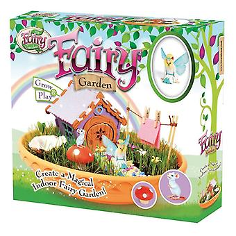 My Fairy Garden Indoor Fairy Garden With 8-page guide and pack of grass seeds