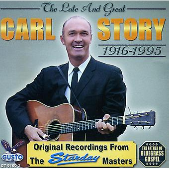 Carl Story - sent & stor [CD] USA import