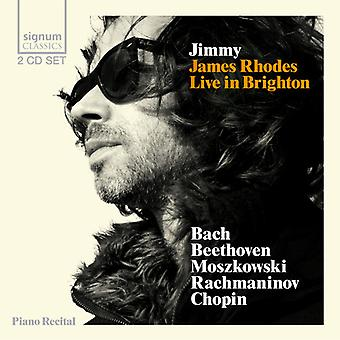 Bach/Beethoven/Moszkowski/Rachmaninov/Chopin - Jimmy [CD] USA import