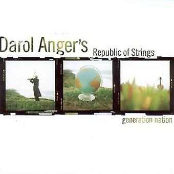 Darol Anger & Republic of Strings - Generation Nation [CD] USA import