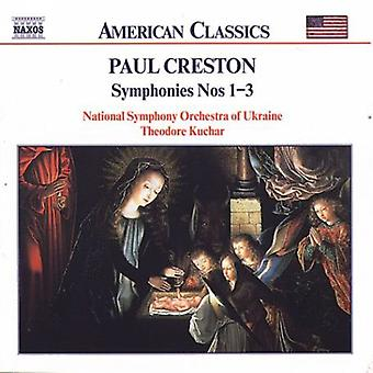 P. Creston - Creston: Symphonies 1 - 3 [CD] USA import