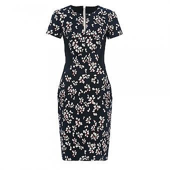 Français connexion Eva coton manches courtes robe de Womens