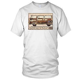 VW T2 Camper Herren T Shirt