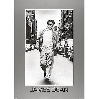 James Dean Walking plakat Print (20 x 28)