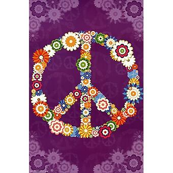 Peace Sign 2013 Poster Print