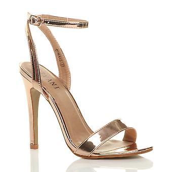 Ajvani naisten korkokengät platform nilkka hihna tuskin siellä strappy Sandaalit kengät