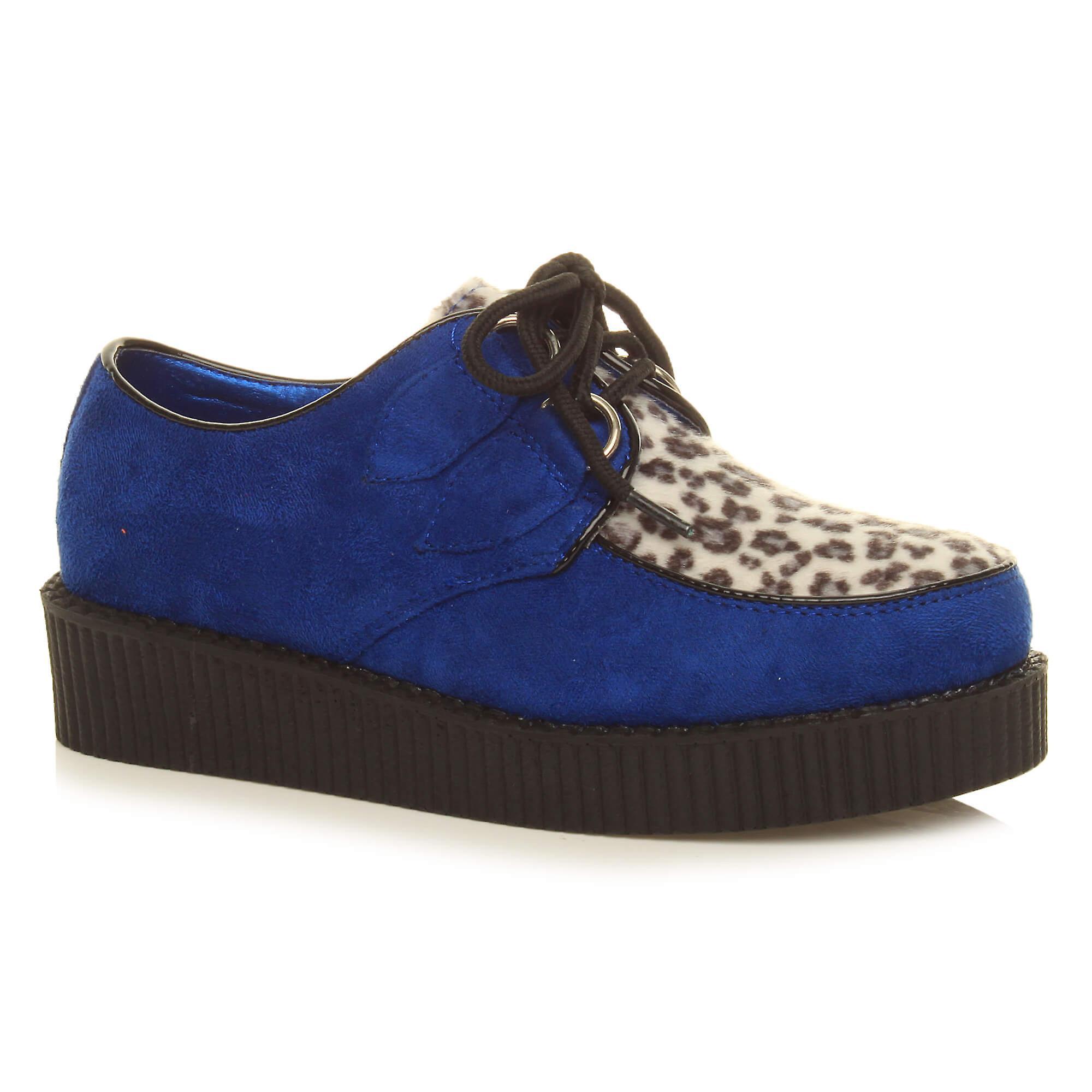 Ajvani damskie płaską platformę klina koronki do goth punk pnączy buty buty WMcJJ