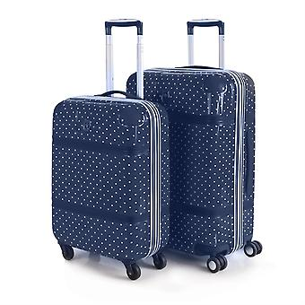 Set 2 travel luggage cabin and medium Pc polycarbonate Victorio and Lucchino 80100