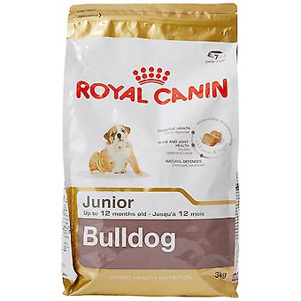 Royal Canin Dog Food Bulldog Junior 30 Dry Mix 3 kg