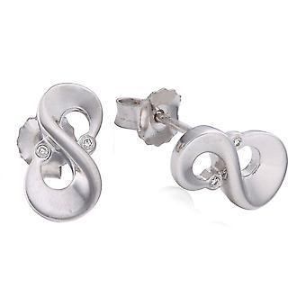 Orphelia Silver 925 ørering Diamond glans ZO-5679