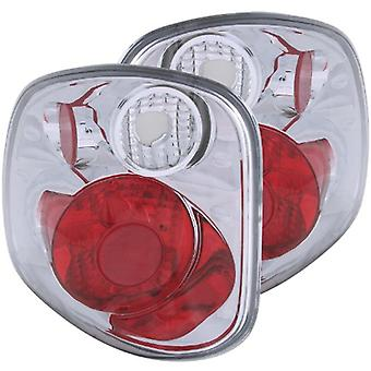 Anzo USA 211068 Ford f-150 Chrome Version 2 Tail Light Assembly - (paarweise)